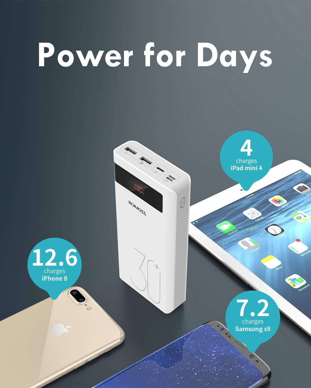 Cheap and Good PowerBank (30000mAh & 1 week power)