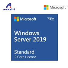 Microsoft Corp. MOB Windows Server Standard 2019 2-Core License Only